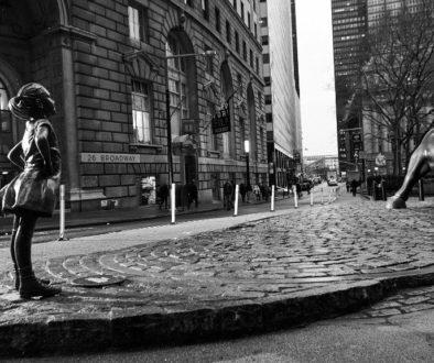 Estátua da 'Fearless Girl' em Wall Street até 2018